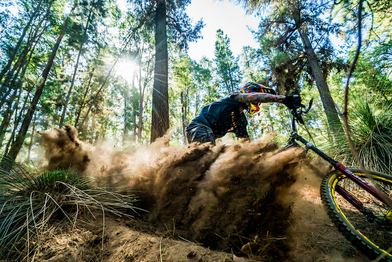 Must Watch: Sam Hill Gets Sideways on the New Nukeproof Dissent