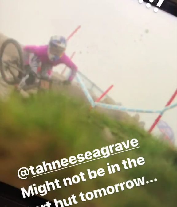 Tahnee Seagrave Reportedly Injured in Fort William [Updated with Images from Crash]