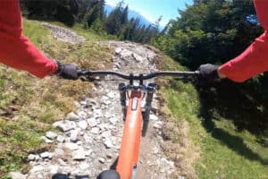 Video: Claudio Caluori Takes a Run Down the World's First Fully Electric Built Trail