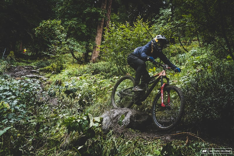 Race Day Photo Epic: Teetering on the Edge – EWS Zermatt 2020