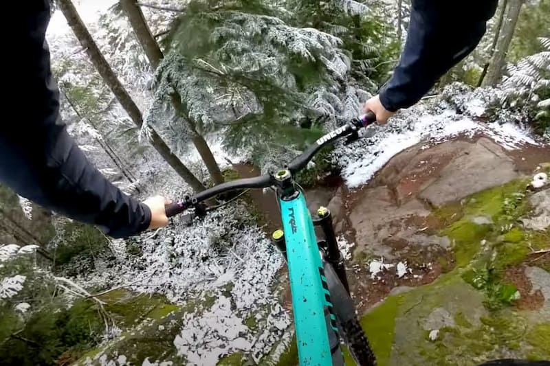 Video: Remy Metailler Rides Squamish Gnar in the Snow