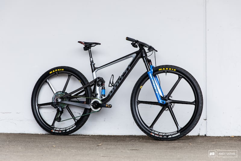 Comparing Anne Terpstra & Nadine Rieder's Ghost Lector FS Race Bikes – Albstadt XC World Cup 2021