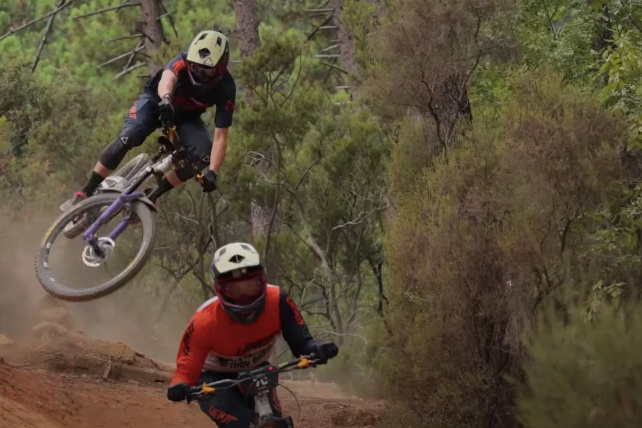Video: Behind the Scenes at EWS Finale with Orange Factory Racing